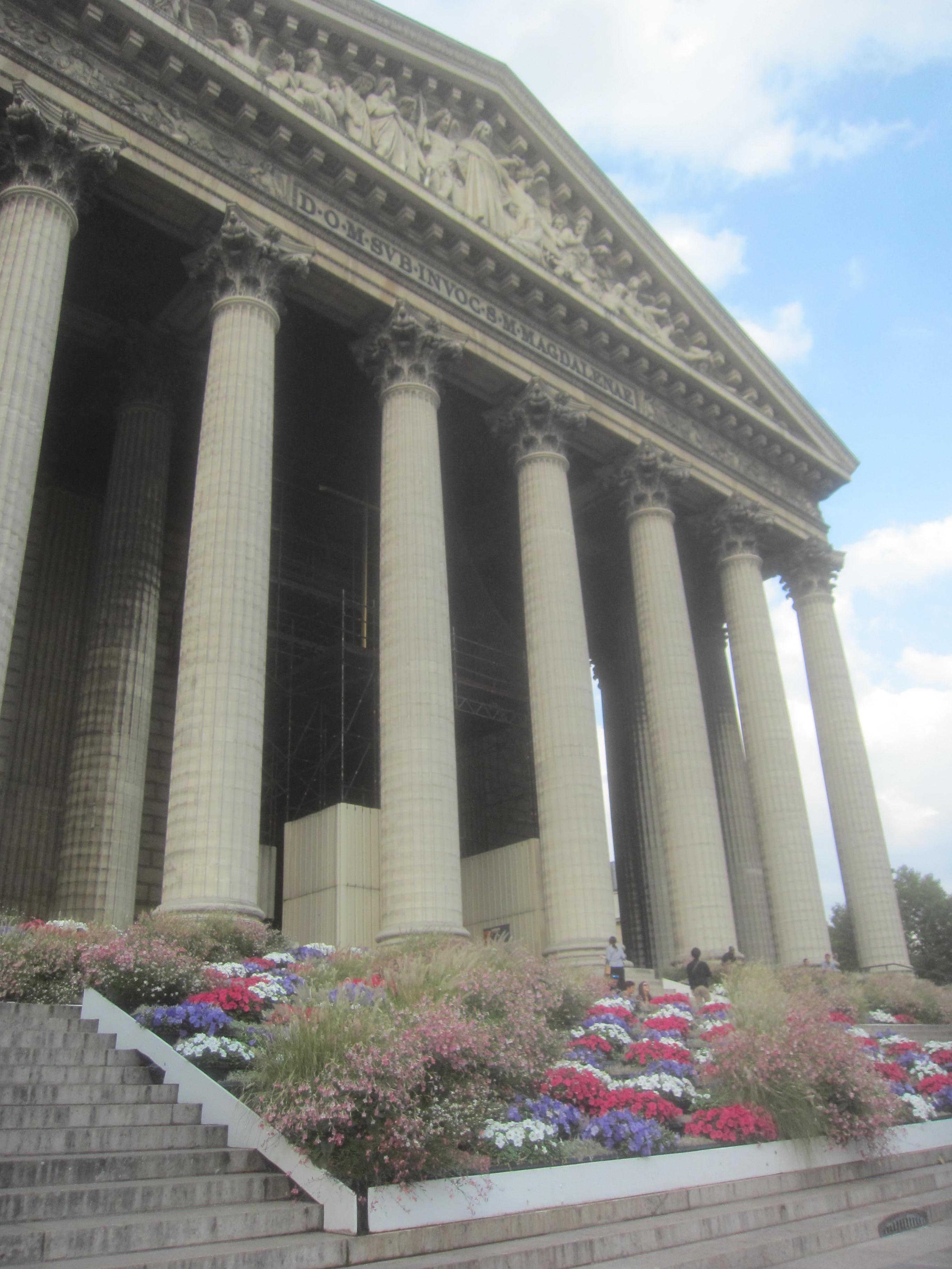 Paris glise de la madeleine disway - L orangerie la madeleine ...